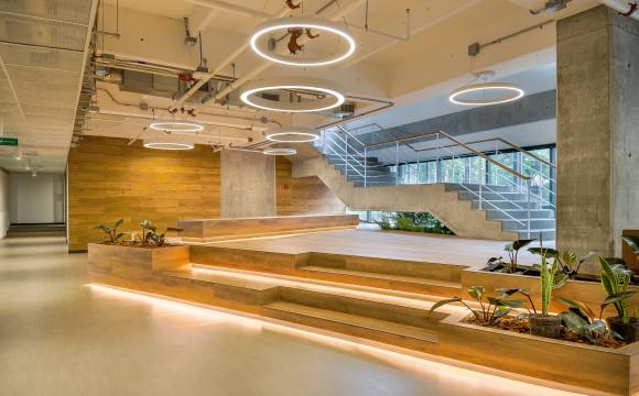 CASE STUDY - Diseño Interior: Oficinas Centrales Grupo Familia