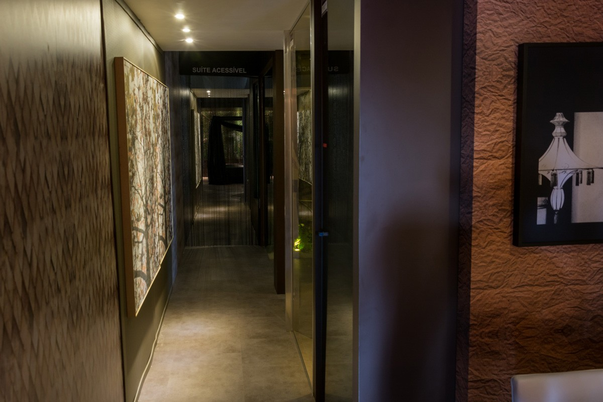 Linha Ambienta Studio Stone Deep Metal / Cor: 24034683 / Projeto: Stand Abmoteis - Equipotel