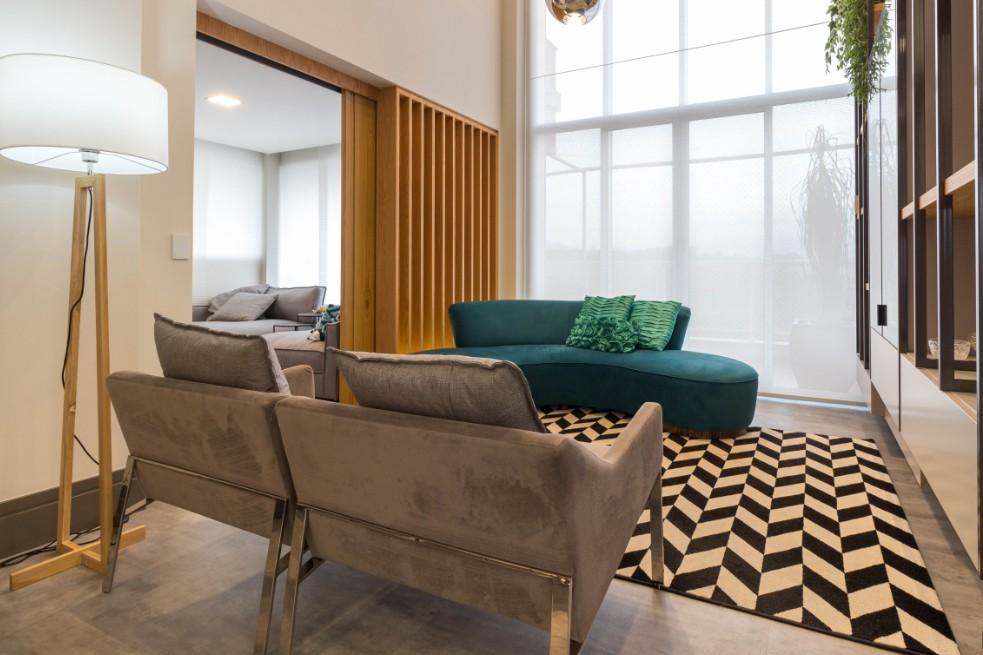 Linha Ambienta Stone Titanium / 24034681 / Projeto: Apartamento Grand Garden / Arquiteta: Viviane Bernucci / Revenda: Rally Decorações / Fotógrafo: Paulo Eduardo da Silva