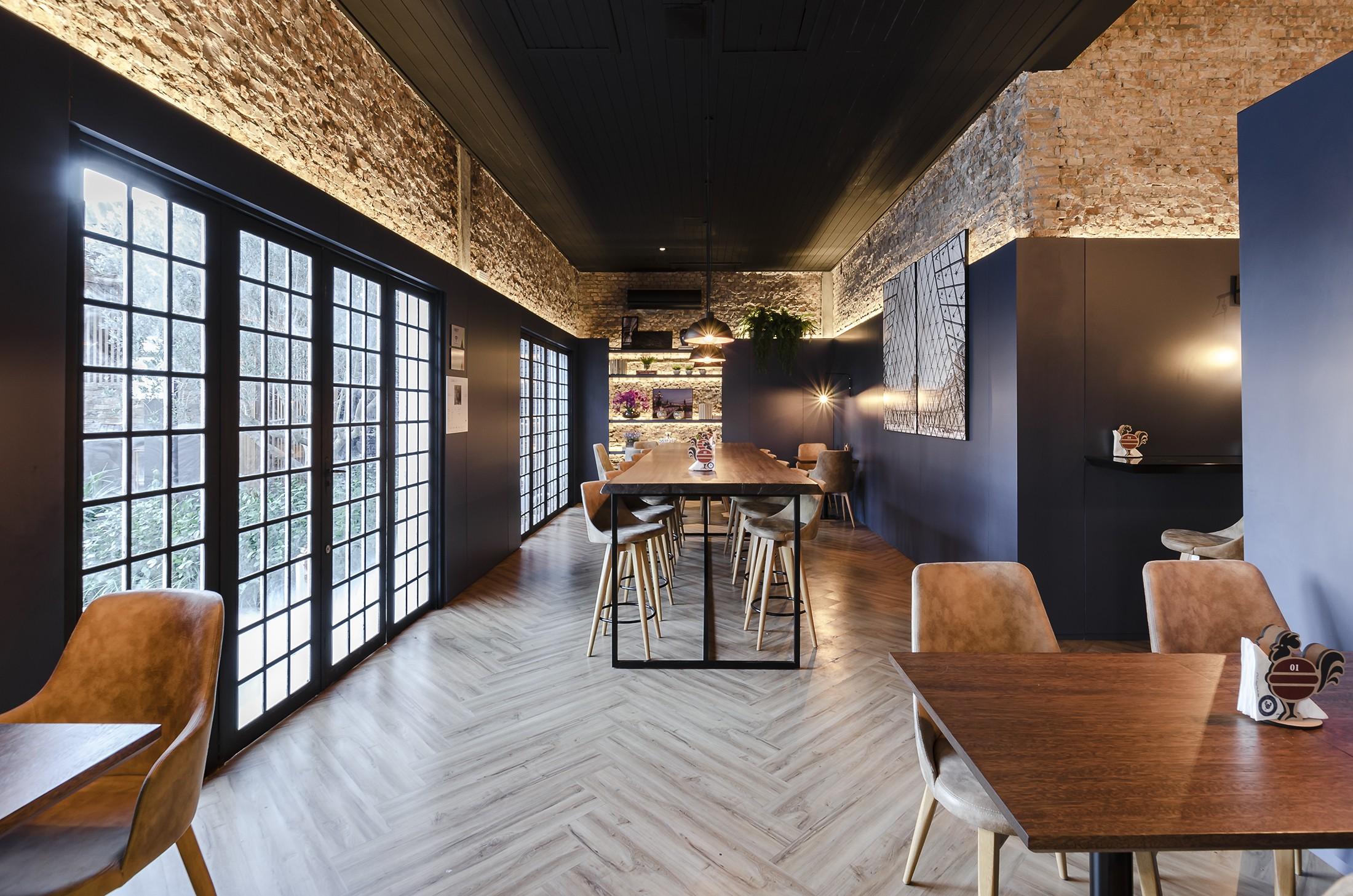 Linha Ambienta Series Bétula/ Código: 9344606 / Projeto: Restaurante / Arquiteta: Manuela Beheregaray / Revenda: Costaneira / Fotógrafo: Michael Hartmann