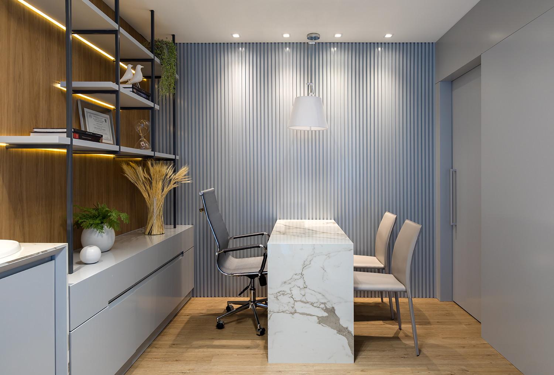 Linha Essence/ Cor: Amburana 24037671/ Projeto: Reforma Clínica Odontológica/ Arquiteta: MYS Arquitetura / Fotógrafo: Fábio Jr Severo