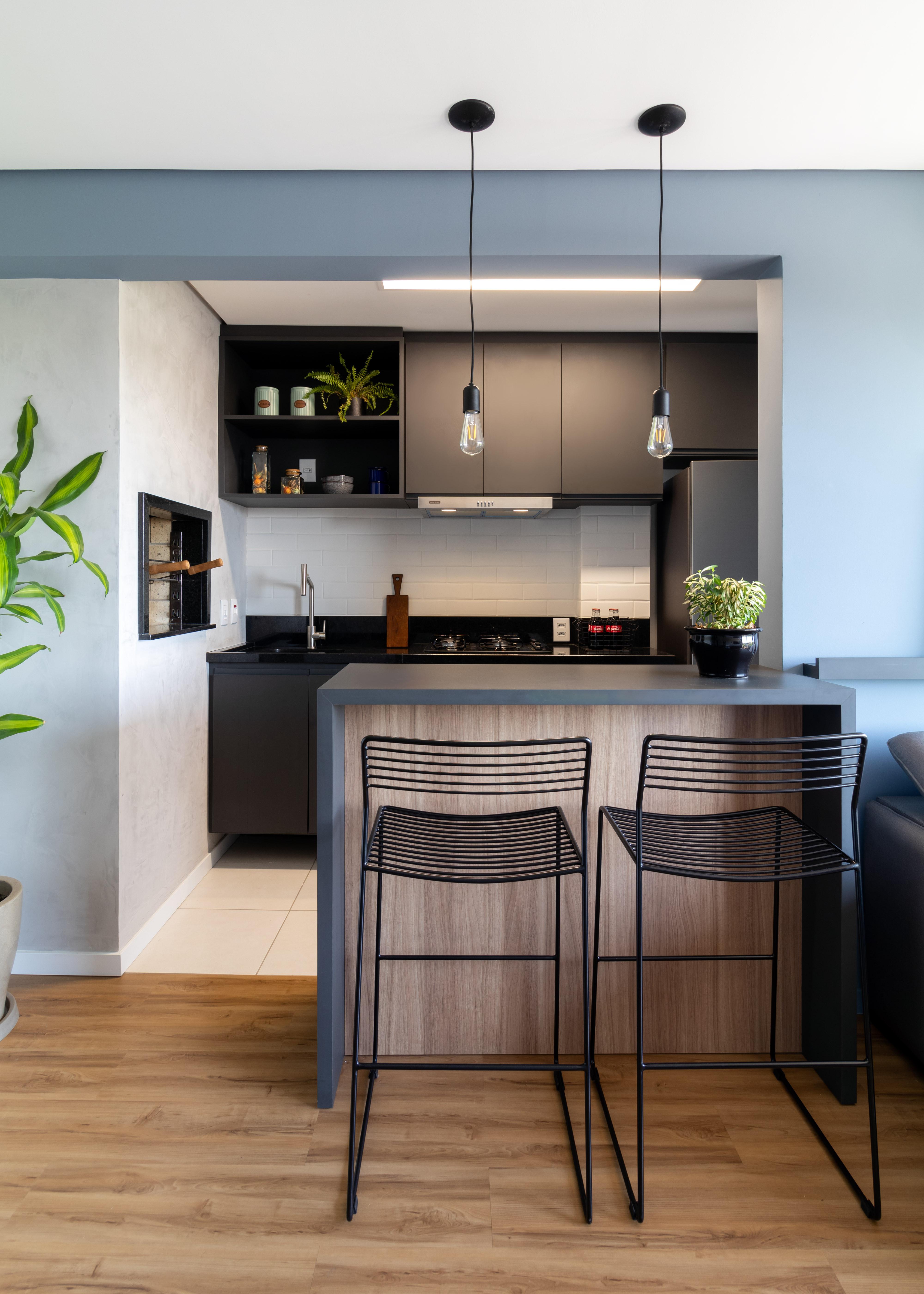 Linha Ambienta Coleção Series Bétula/ Cor: 9344606/ Projeto: Apartamento KR / Arquitetura: Trama Arquitetura/ Foto: Mariana Lübbe